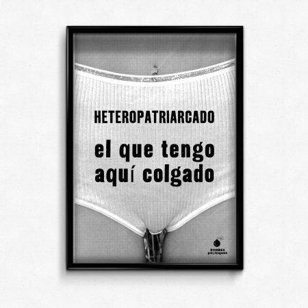 poster A3 heteropatriarcado